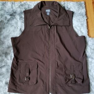 Additions by Chicos size 3 polyester vest